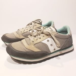 Saucony Jazz Low Pro Grey Womens Size #9.5